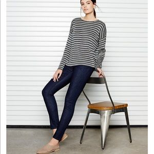 NEW • Eileen Fisher • Slim Ankle Jeans Stretch 6